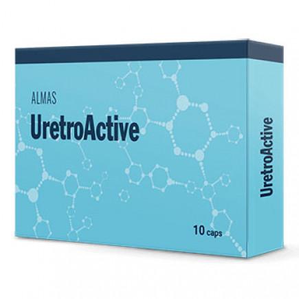 UretroActive ผลิตภัณฑ์สำหรับอาการต่อมลูกหมากอักเสบ