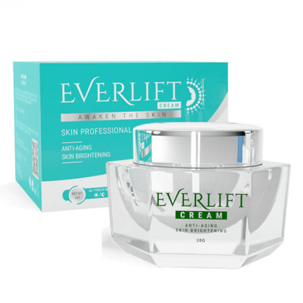 Everlift Cream จะช่วยให้ผิวสว่างใส อมชมพูอย่างเป็นธรรมชาติ